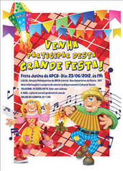 Cartaz_Festa Junina